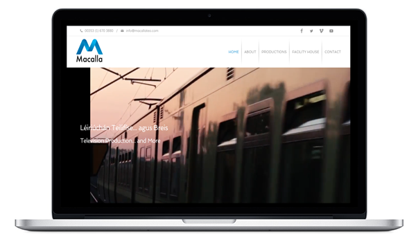 Macalla Website Launched July 2016